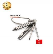 美国进口瑞士科技多功能四合一组合螺丝刀工具迷你随身创意礼品