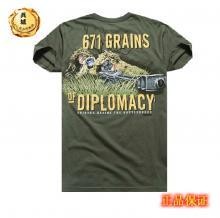 美国正品7.62design男士短袖t恤 个性印花户外军迷T恤衫 狙击1367