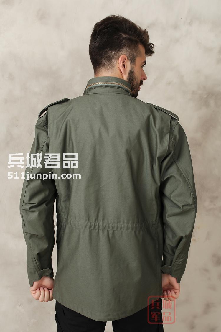 美国Alpha阿尔法M65风衣美军军服保暖防风防水透气