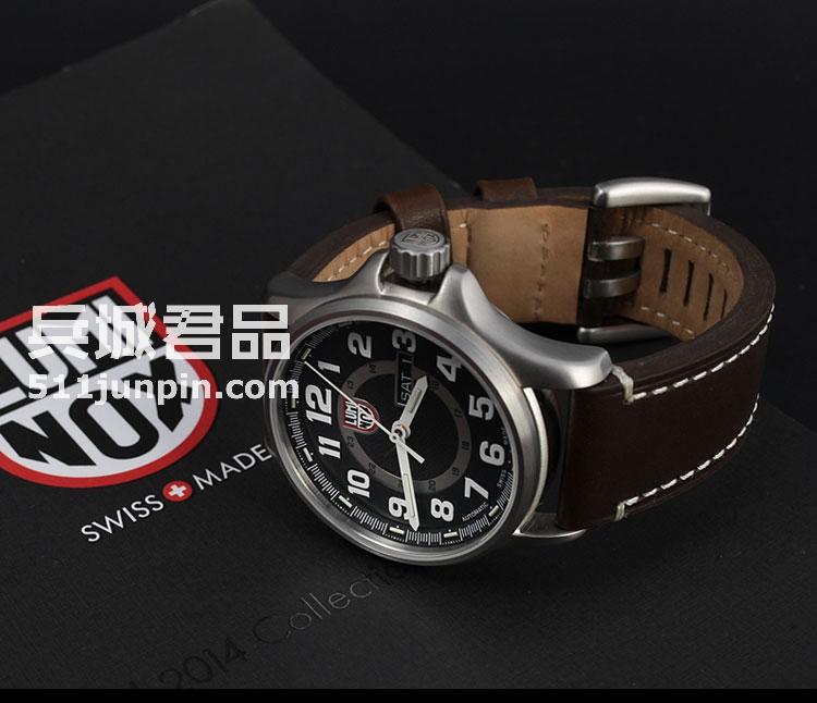 瑞士原装Luminox 鲁美诺斯1801手表户外军表全自动复古机械手表男