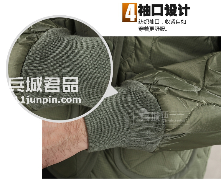 美国Alpha阿尔法M65风衣内胆户外M-65工装风衣/外套内胆保暖抗风