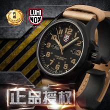 瑞士原装Luminox鲁美诺斯手表1925皮带军表男士手表军表防水夜光