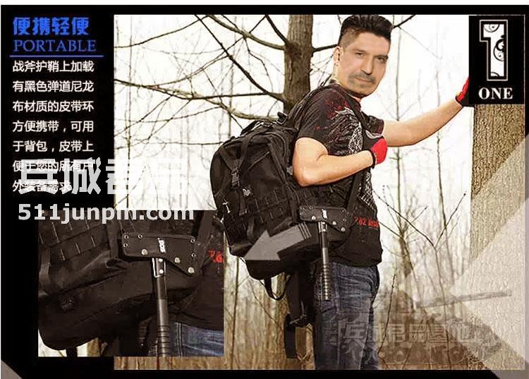 正品美国 索格SOG F06-N 野营户外 开山手斧多功能战斧TomaHawk