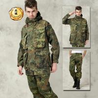 正品德军原品全新KSK军版特种部队沙漠斑点SMOCK迷彩户外作战风衣套装