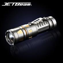 JETBeam捷特明 TCR20 钛合金手电 500流明 强光手电 户外手电筒