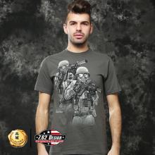 美国正品7.62design男式短袖t恤 个性潮牌军迷t恤  暴力觉醒  17564