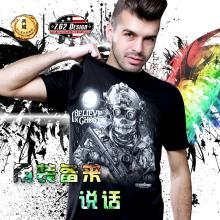 美国正品7.62design男士短袖 个性户外印花军迷T恤  幽灵信徒 16562