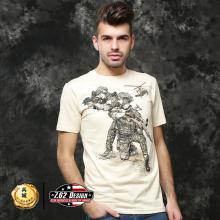 美国正品7.62design男式短袖t恤 个性潮牌军迷t恤  惊险狙击 17565