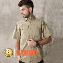 美国正品黑鹰Blackhawk 88TS02 短袖格子衬衫