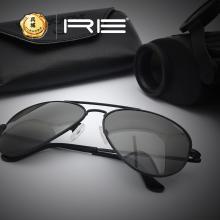 Randolph兰道夫/蓝道夫/新款太阳眼镜黑架弯臂PC镜12434偏光镜