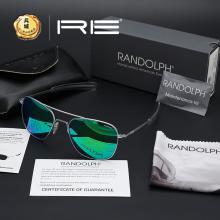 正品美国Randolph兰道夫 协和机系列 镀膜PC镜片 太阳镜84667