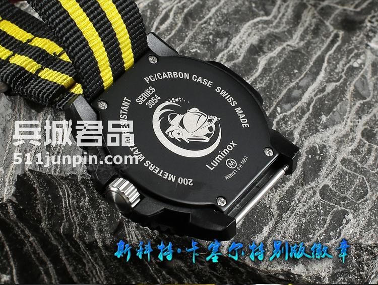 瑞士原装Luminox鲁美诺斯3955.SET军表雷美诺时防水户外夜光手表