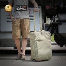 美国5.11轻便拉杆箱 56169 灰色 狼棕色 【511拉杆箱】
