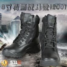 正品 美国 5.11 ATCA侧拉链8寸战术靴/作战靴 12001
