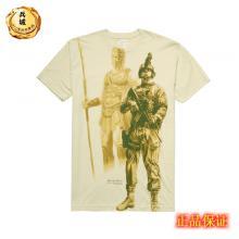 "7.62design男士纯棉短袖t恤 户外军迷T恤衫""勇士精神2553"