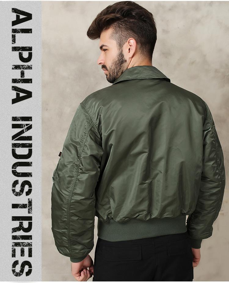 美国ALPHA 阿尔法 CWU 45P 飞行夹克 户外休闲夹克 工装外套 经典