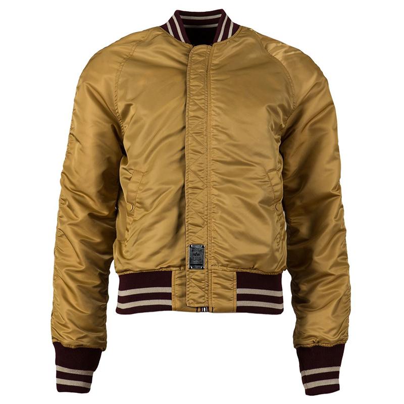 美国阿尔法Alpha男士外套MA-1刺绣帝王雄鹰纪念版MA1户外飞行夹克