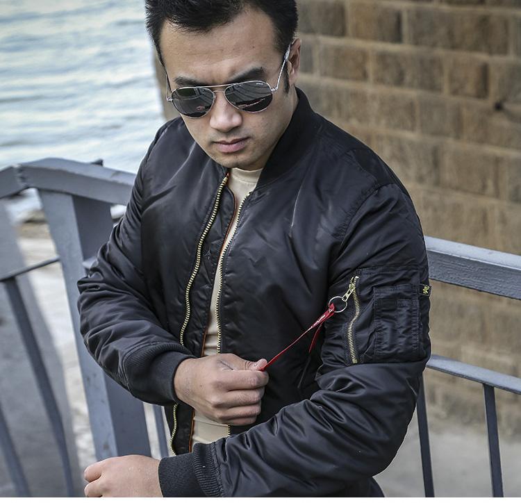 ALPHA INDUSTRIES ALPHA阿尔法工业空军飞行员夹克外套ma1修身夹克外套棉服