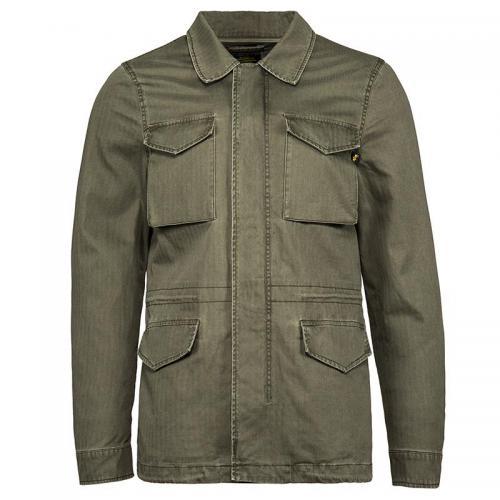 ALPHA INDUSTRIES 美国ALPHA阿f尔法 M-51复古版风衣外套 防风长款 复古绿